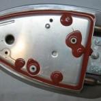 00670854  нижняя часть корпуса парогенераторы Bosch