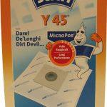 SP1702545 пылесборники 5шт +фильтр пылесосы De'Longhi