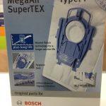 Мешки-пылесборники для пылесоса Bosch  Type P 4шт. в упаковке. 468264 / BBZ41FP