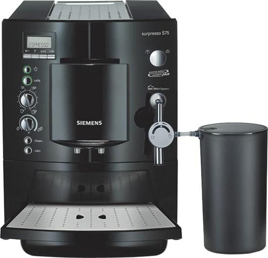кофемашина Siemens Surpresso S75 инструкция img-1